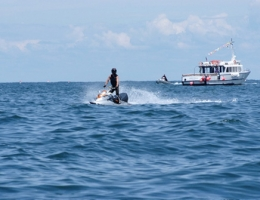 Le danger des embarcations et jet-skis