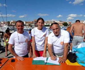 C. Cerboni, E. Romieu-Aldrovandi et Jo Russo