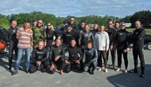 les fines flèches du Bassin d'Arcachon et le Donibane Urpeko Kirolak, nouveau club de Cibourre-Saint Jean de Luz